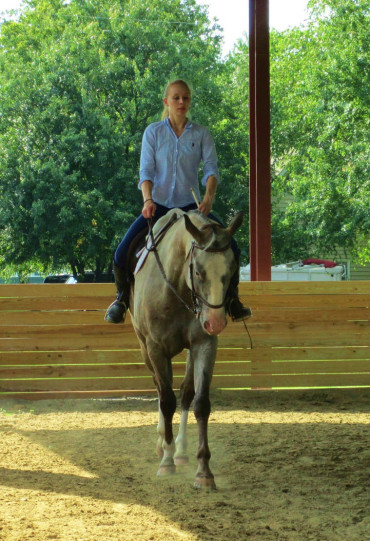 Side Passing Under Saddle