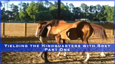 Yielding the Hindquarters with Roxy Part One