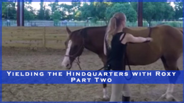 Yielding the Hindquarters with Roxy Part Two